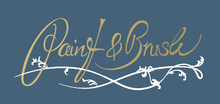 Paint & Brush Logo