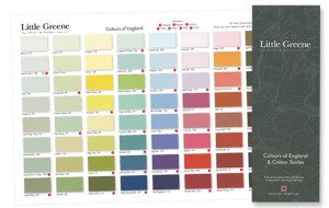 Little Greene Farbkarte